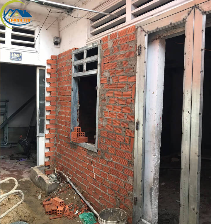 Cải tạo, nâng cấp tường nhà, xây dựng phần thô